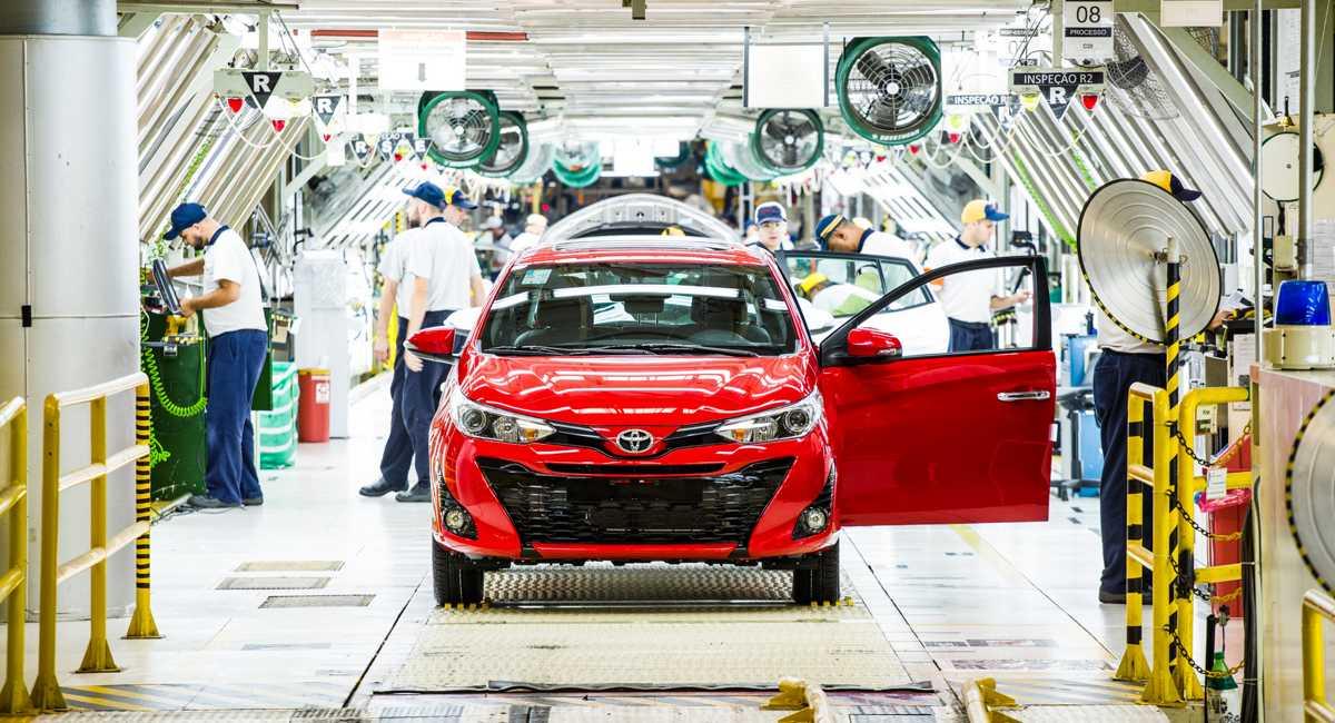 Toyota fará novo investimento de R$ 1 bilhão