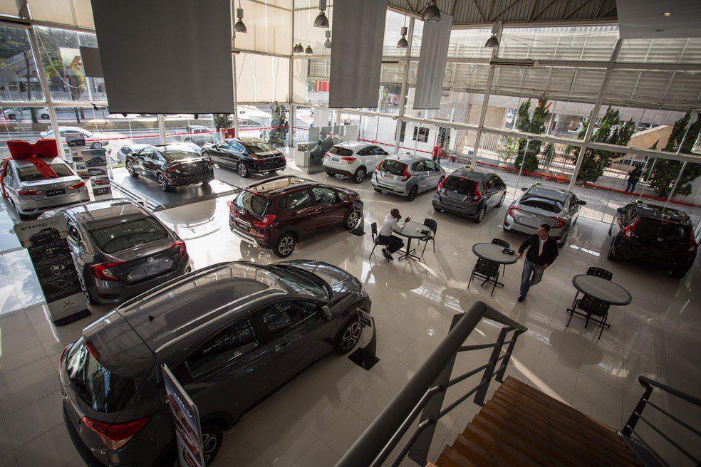 vendas de veículos