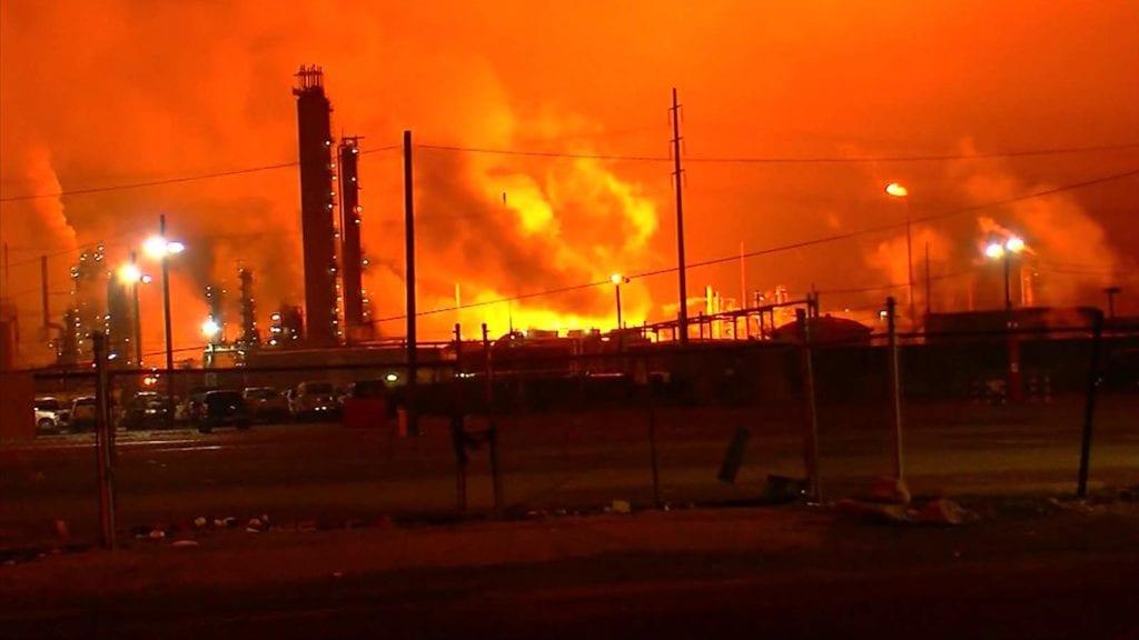 refinaria da exxon