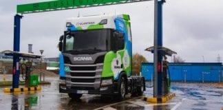 Caminhão a gás natural