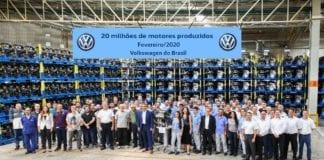20 milhões de motores