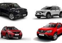 Os 10 SUVs automáticos mais baratos do Brasil