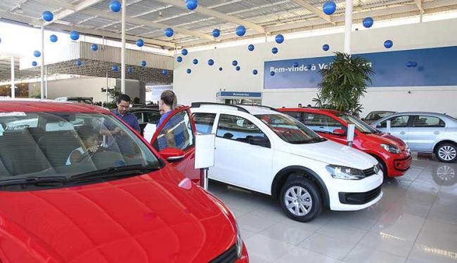 venda de veículos cresce
