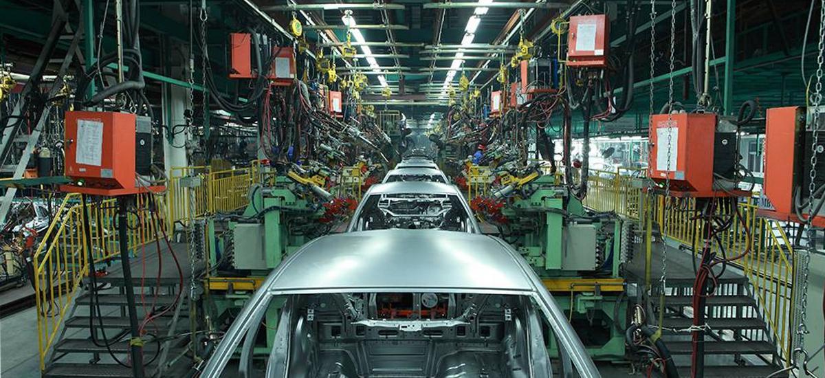 Produção de carros no País