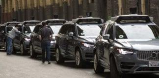 testes com veículos autônomos