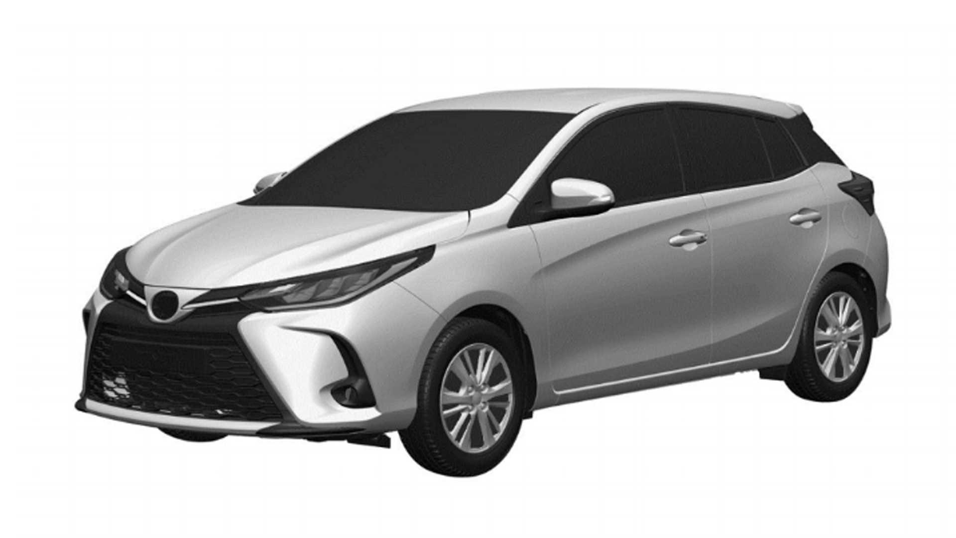 Toyota Yaris reestilizado