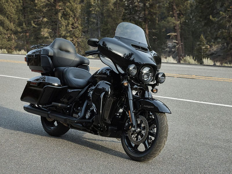 Sistema de auto-equilíbrio da Harley-Davidson