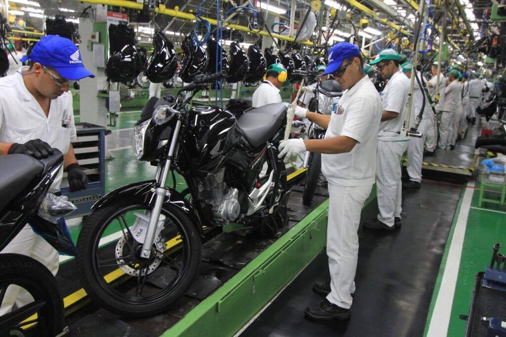 industria de motocicletas