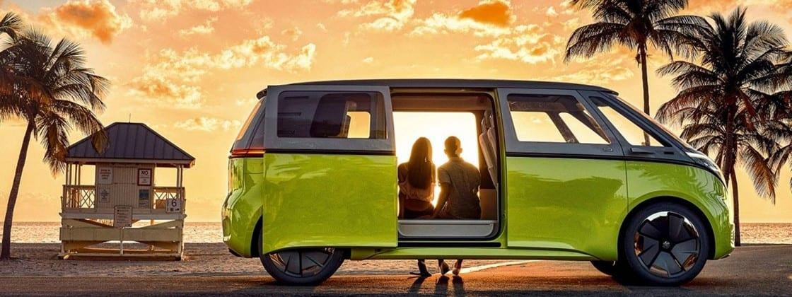 Kombi elétrica da Volkswagen