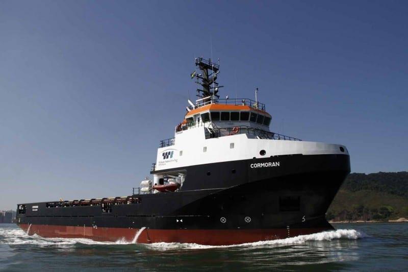 barco híbrido para offshore