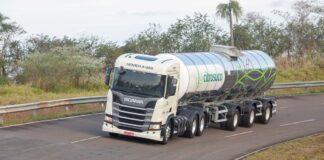 uso do gás no transporte