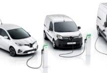 Renault lidera elétricos na Europa