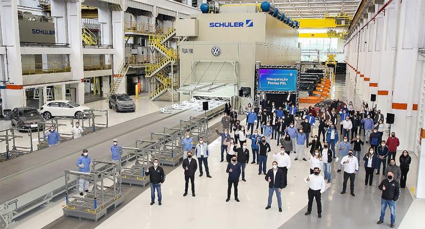 Volkswagen finaliza ciclo de investimento