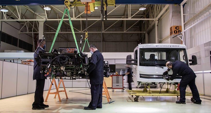 Caminhões elétricos e-Delivery