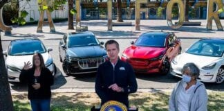 Califórnia proíbe carros a combustão