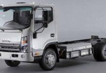 Caminhão elétrico da JAC