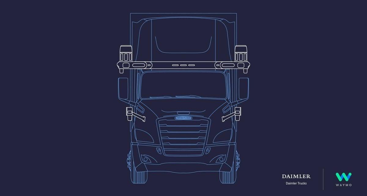 Daimler Trucks e Waymo