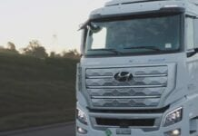 Caminhão a hidrogênio Hyundai
