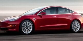 Tesla Model 3 chinês chega à Europa