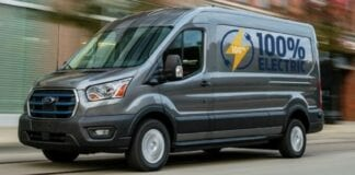Van elétrica Ford E-Transit