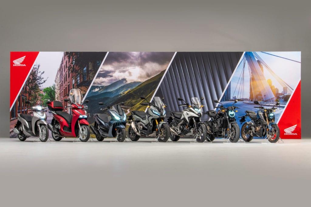 Honda mostra atualizações para 2021
