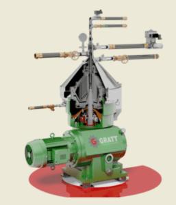 Separadoras-centrifugadoras