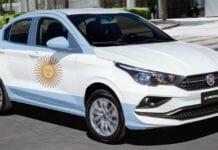 Produção de veículos na Argentina