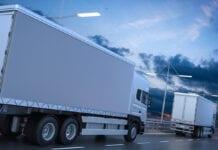 Venda mensal de caminhões