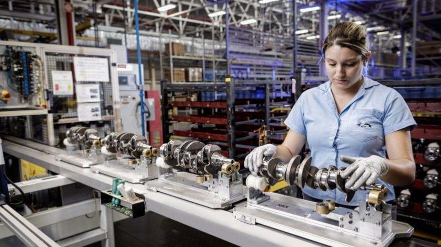 Encerramento da produção da Ford