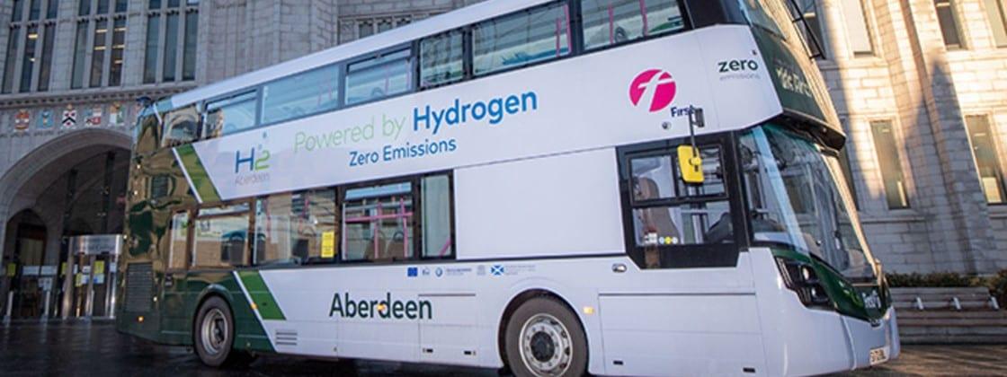 Ônibus movidos a hidrogênio