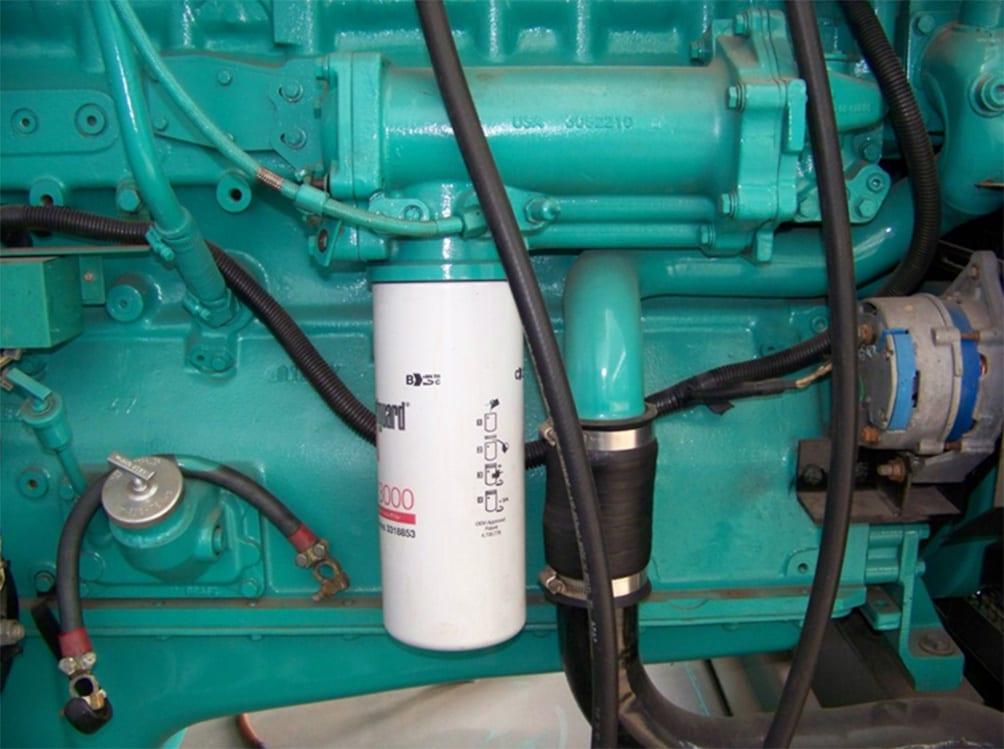 Filtros de óleo lubrificante