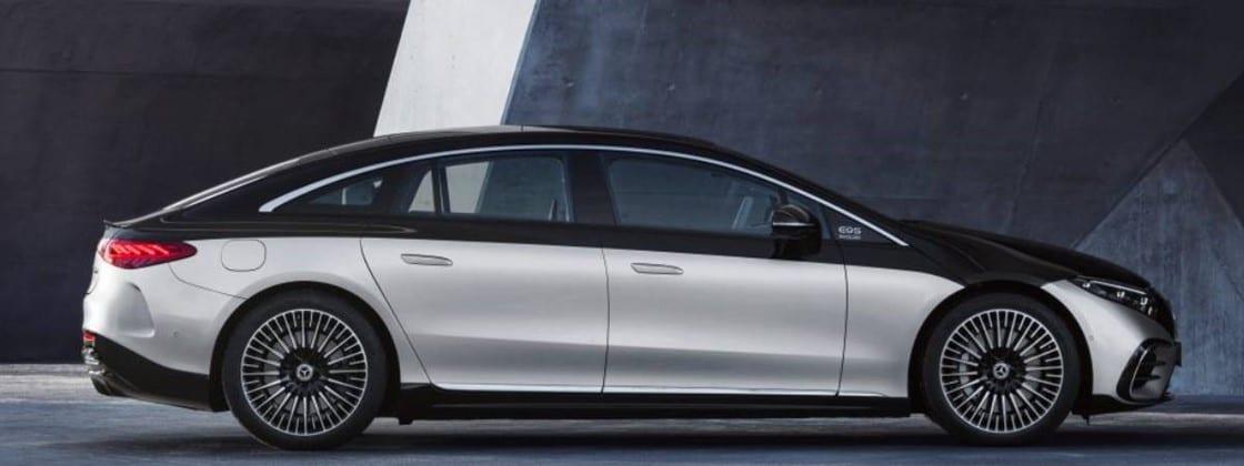 Mercedes revela o elétrico EQS