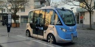 Micro-ônibus autônomo