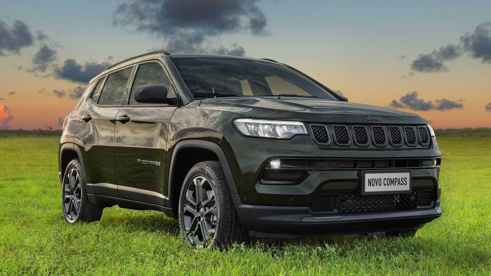 Jeep lança Compass 2022