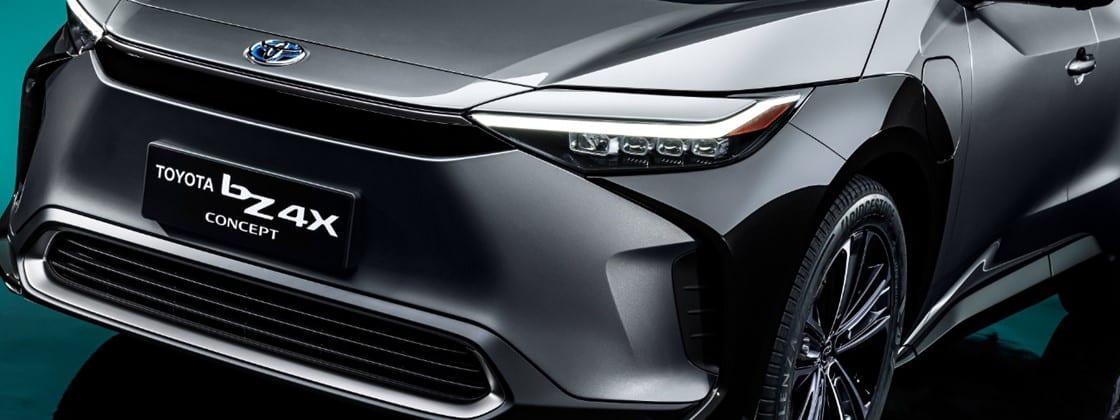 Veículos elétricos da Toyota