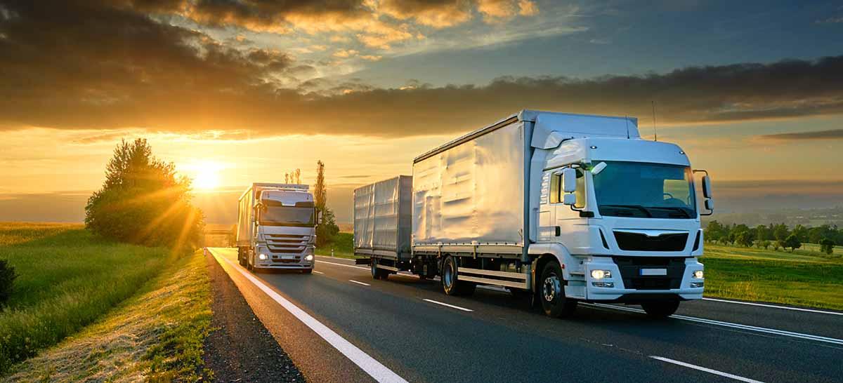 Venda diária de caminhões