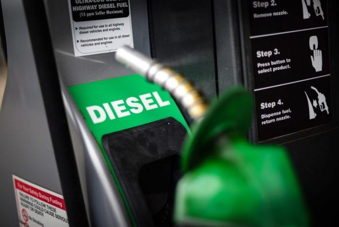 Especificaciones del diésel verde