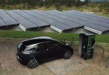 BMW desenvolve eletroposto solar