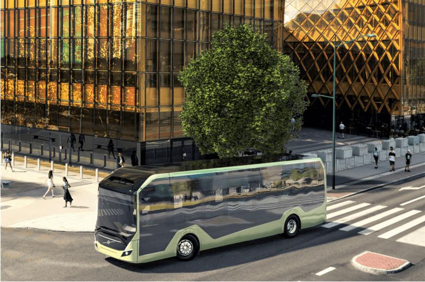 chassi de ônibus elétrico