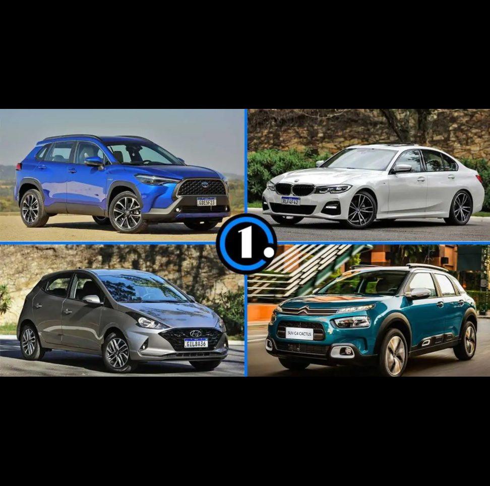 Os carros nacionais com motores importados