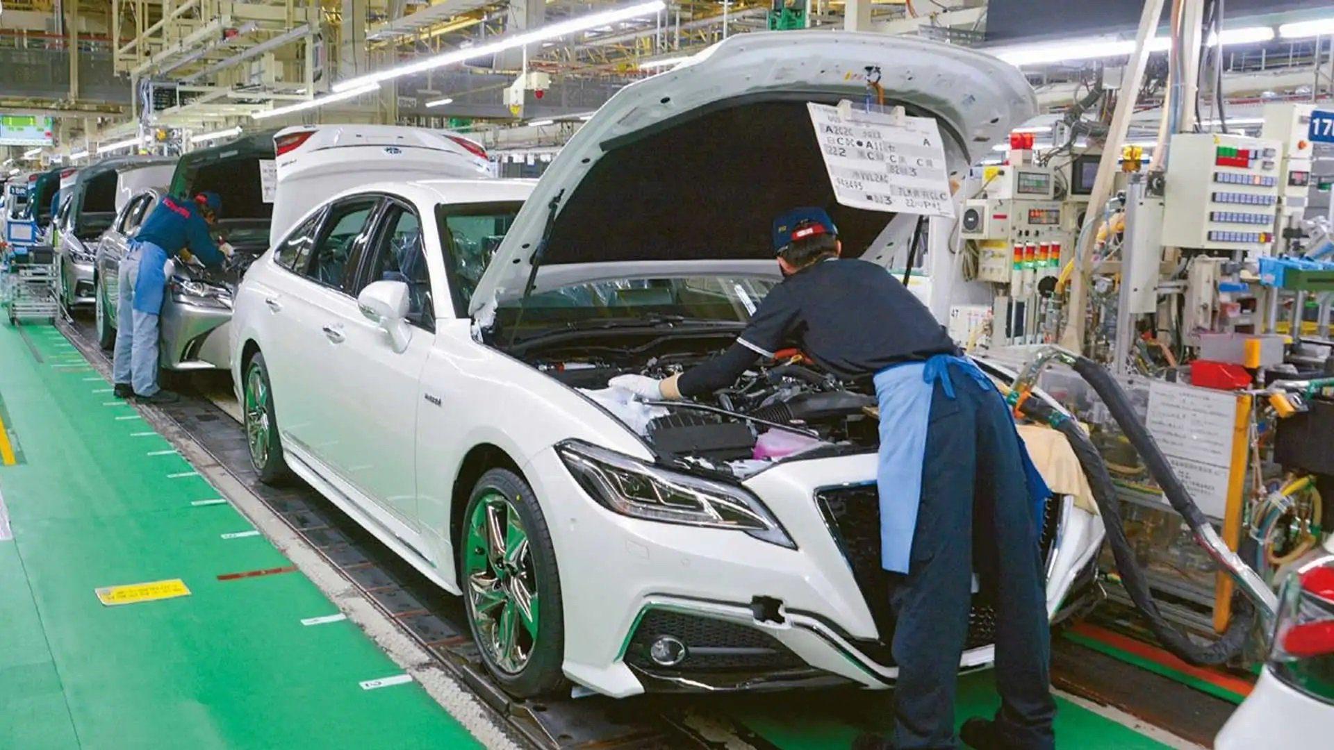 Toyota corta produção