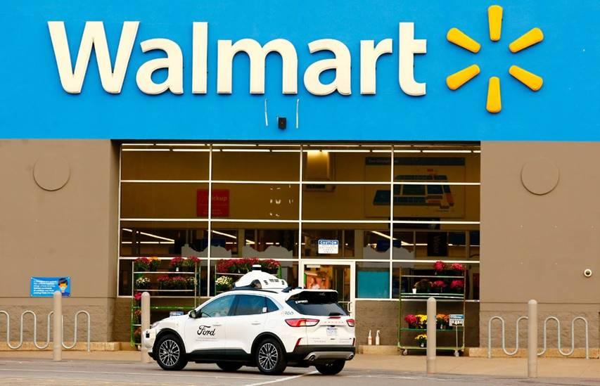 Ford, Argo e Walmart vão lançar serviço de entrega com veículos autônomos nos EUA